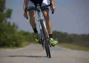 Returning to sports after a knee replacement - bicycle