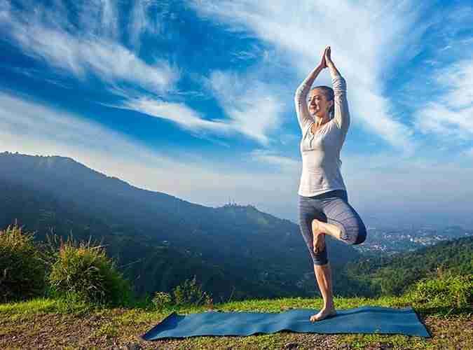 Tree Pose - Yoga