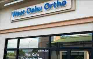 West Oahu Orthopedics Outside