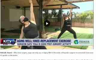 Aging Well: Yoga is one of the best exercises after knee surgery