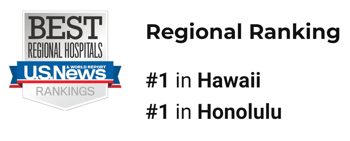 USNews Top Orthopedic Hospital in Hawaiia