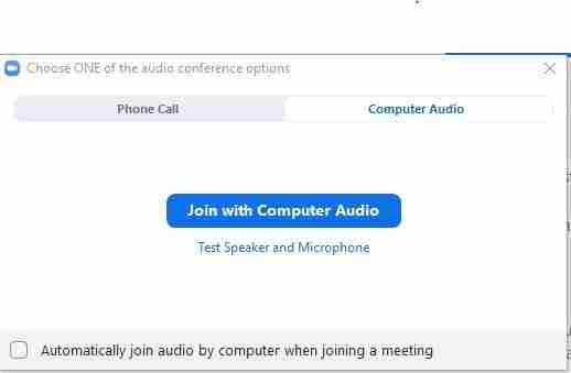 Telemedicine visit Phone or Computer AUdio